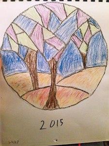 Luke's Trees Mandala