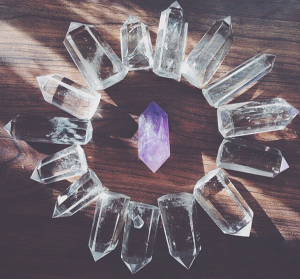 Crystals Mandala by Lauren