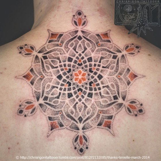 Rigoni Tattoo Mandala by Chris Rigoni