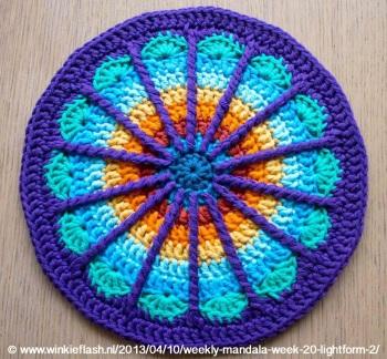 Crochet Mandala by Marinke
