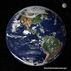 Earth and Moon Mandalas by EarthObservatory.nasa.gov