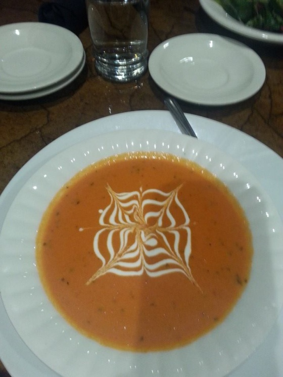 Tomato Soup Mandala - photo by Cee
