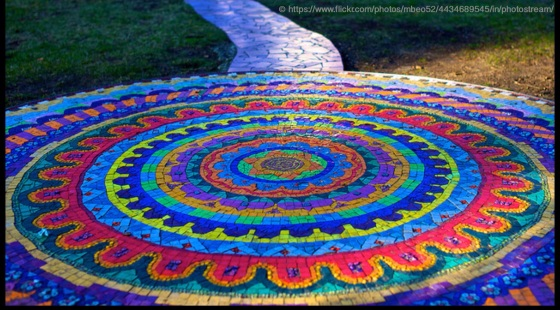 A Most Beautiful Mandala - found on flickr