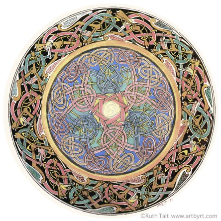 Celtic Mandala by Ruth Tait