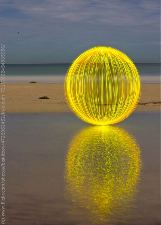Ball of Light Mandala by Denis Smith