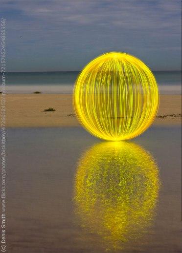 Ball of Light Mandala by Denis Smith