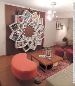 Bookcase Mandala by Veronica