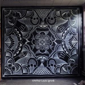 Négatif Mandala by Arthur-Louis Ignoré
