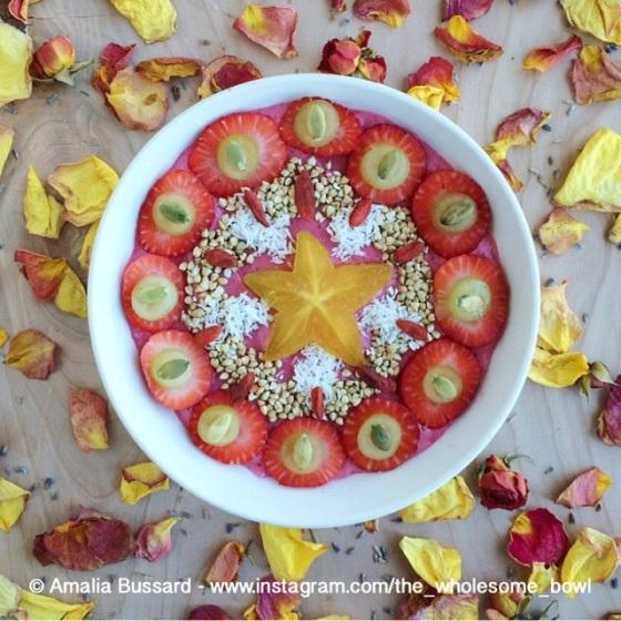 Wholesome Bowl Mandala by Amalia Bussard