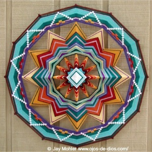 Fire of Life Mandala by Jay Mahler