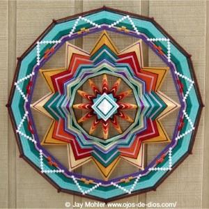 Fire of Life Mandala by Jay Mahler