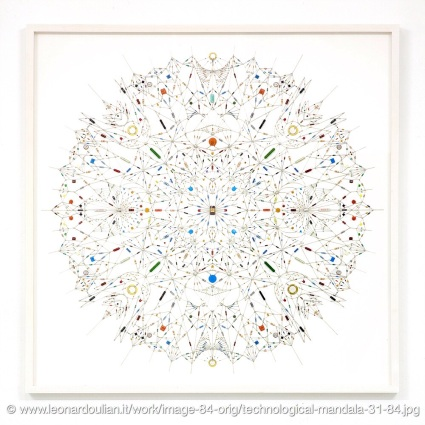 Circuits Mandala by Leonardo Ulian