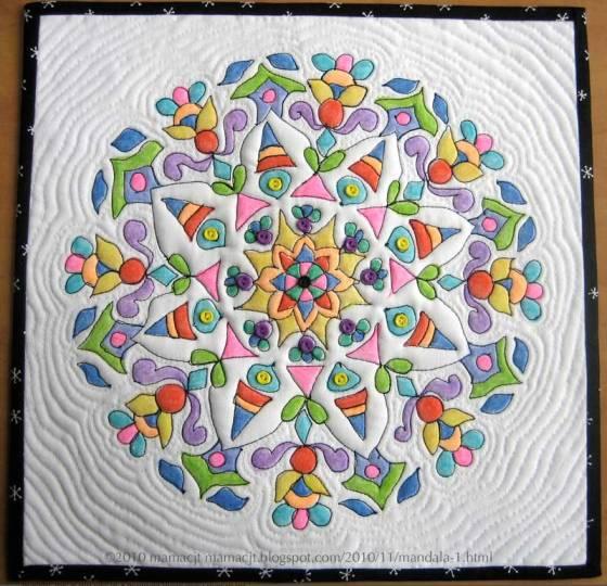 Crayon Quilt Mandala by Carol (mamacjt)
