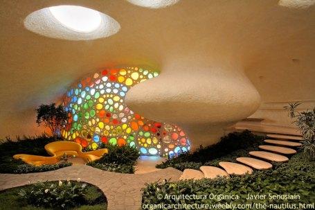 Nautilus House by Javier Senosiain