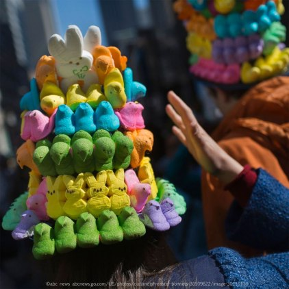 Easter Peeps Mandala - Victor J. Blue/Getty Images