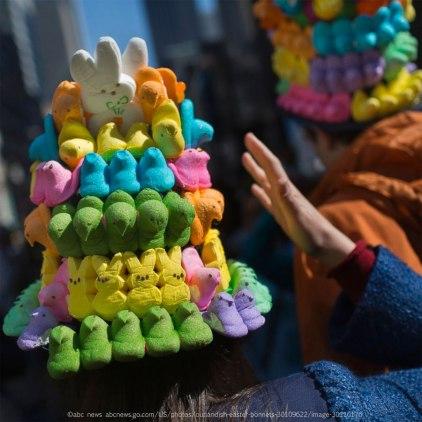 Easter Peeps Mandala - Victor J. Blue/Getty Images