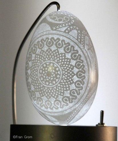 Egg Mandala by Franc Grom