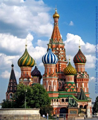 St. Basil's Cathedral - photo by Andrew Pretcher