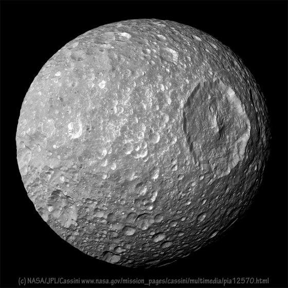 Mimas Mandala - NASA