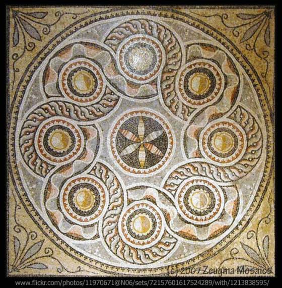 Zeugma Mandala - photo by Zeugma Mosiac on Flckr