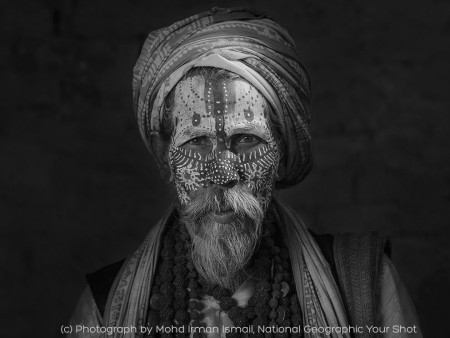 Facial Mandala - Photograph by Mohd Irman Ismail,