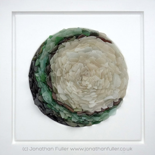 Sea Glass Mandala by Jonathan Fuller