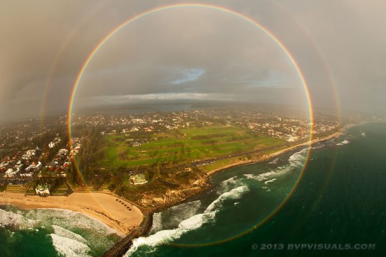 Rainbow Mandala - Photograph by Colin Leonhardt of Birdseye View Photography