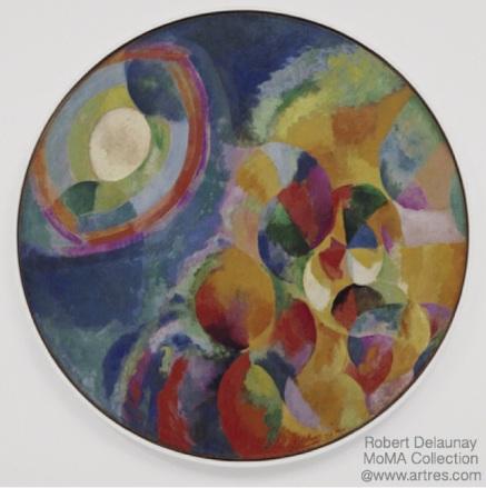Delaunay Mandala by Robert Delaunay