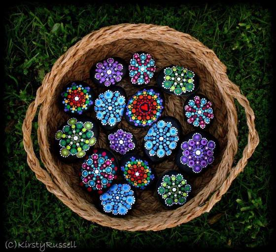 Kirsty Rocks Mandalas by Kirsty Russell