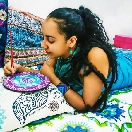 Mara Dias Mandala by Mara Dias