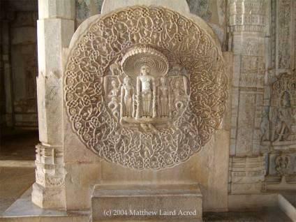 Ranakpur Jain Temple - protective hooded snake