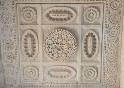 Ranakpur Jain Temple - Krishna on Kaalia
