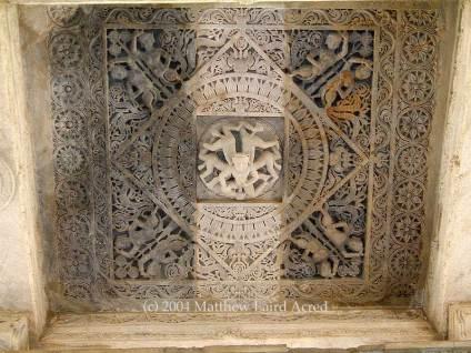 Ranakpur Jain Temple - 5-bodied head