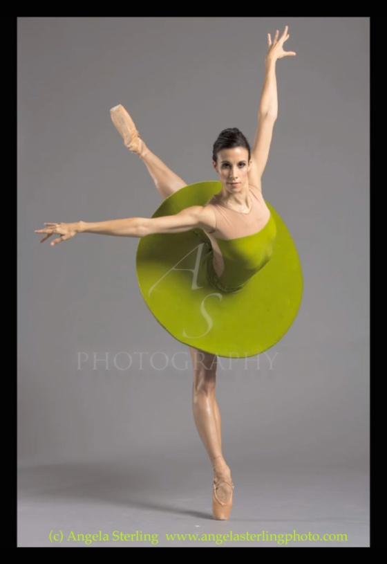 Ballerina Mandala - Photograph by Angela Sterling