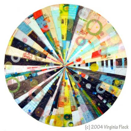 Hub Mandala by Virginia Fleck