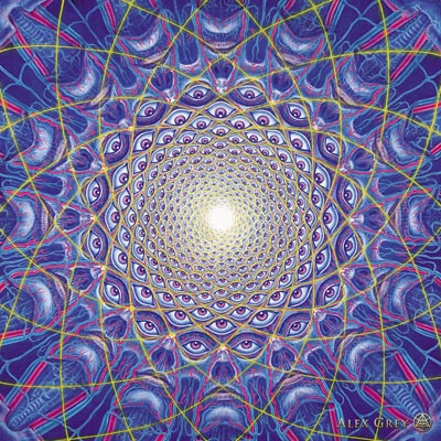 Collective Vision Mandala by Alex Grey