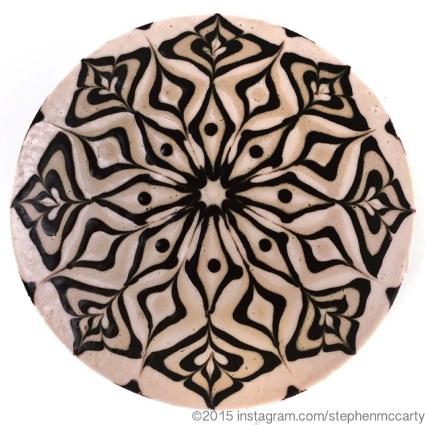 Cheesecake Mandala by Stephen McCarty