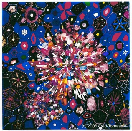 Geode by Fred Tomaselli