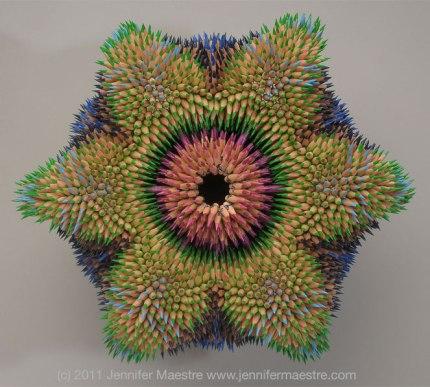 Cycad Mandala by Jennifer Maestre