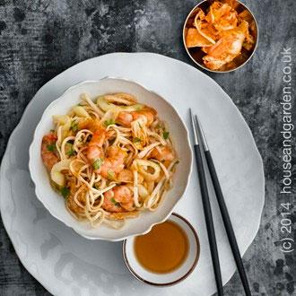 Prawn Noodle Mandala
