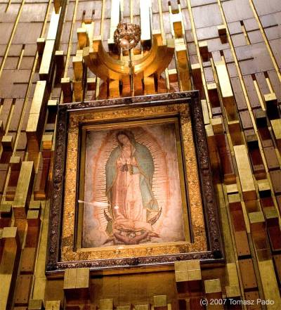 Our Lady of Guadalupe - photo by Tomasz Pado