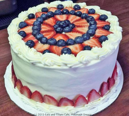 Red, White and Blue - Eats and Treats Cafe