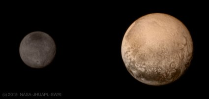 Pluto and Charon -  NASA-JHUAPL-SWRI