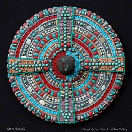Crow Mandala - Nina Ventra
