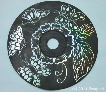 CD Art Mandala by Swapnal