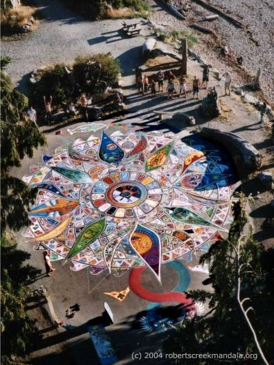 2004 Roberts Creek Community Mandala
