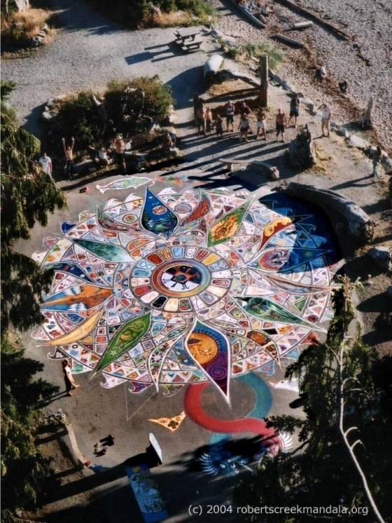 2004 Roberts Creek Community Mandala