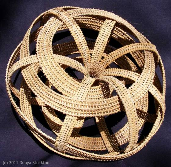 Weaving Basket by Donya Stockton