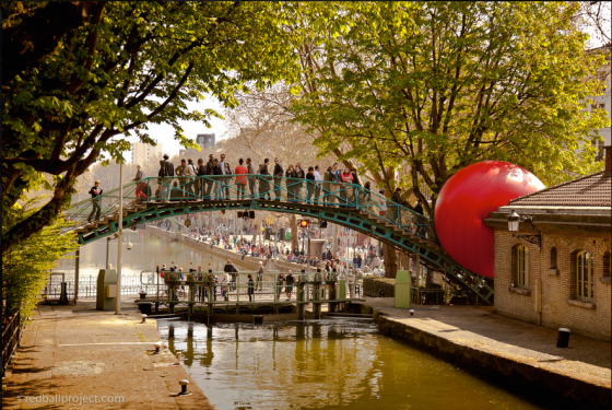 RedBall Project in Paris
