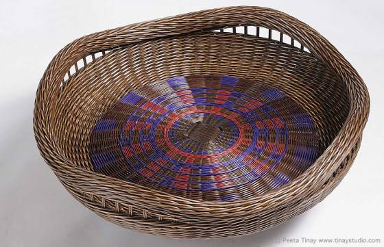 Reed Baskets by Peeta Tinay